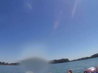 Inward tube bj on the lake